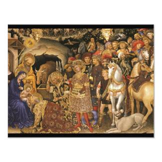 Adoration of the Magi Gentile Fabriano Card