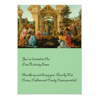 Adoration of the Magi 5x7 Paper Invitation Card