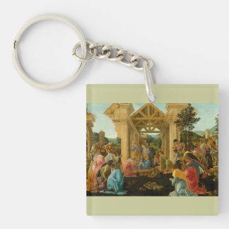 Adoration of the Magi Keychain