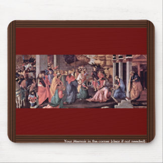Adoration Of The Magi (London) By Botticelli Mouse Pad