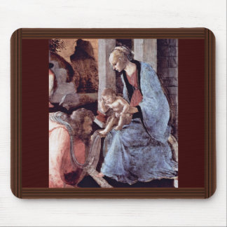 Adoration Of The Magi (London) Detail By Botticell Mouse Pad