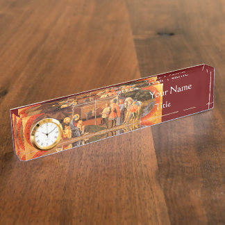 ADORATION OF THE MAGI NAME PLATE
