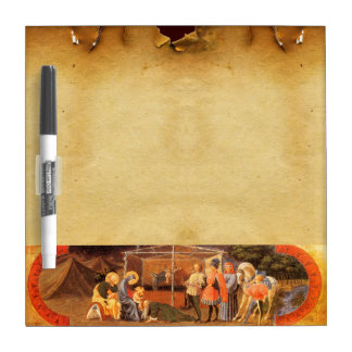 ADORATION OF THE MAGI NATIVITY PARCHMENT Dry-Erase BOARD