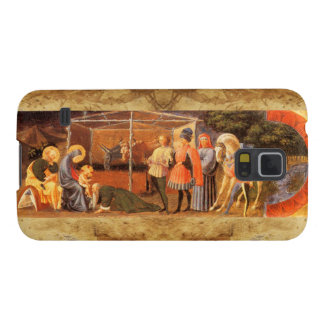 ADORATION OF THE MAGI NATIVITY  PARCHMENT GALAXY S5 COVER