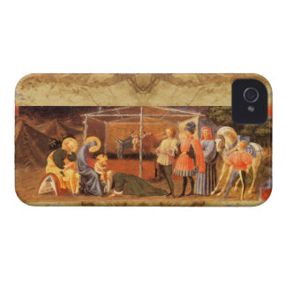 ADORATION OF THE MAGI NATIVITY  PARCHMENT iPhone 4 Case-Mate CASES