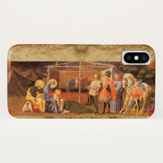 ADORATION OF THE MAGI NATIVITY  PARCHMENT iPhone X CASE