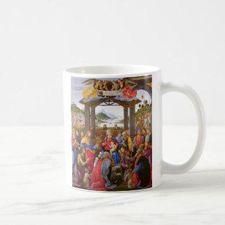Adoration of the Magi Ospedale degli Innocenti Classic White Coffee Mug