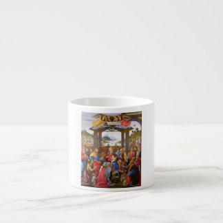 Adoration of the Magi Ospedale degli Innocenti 6 Oz Ceramic Espresso Cup