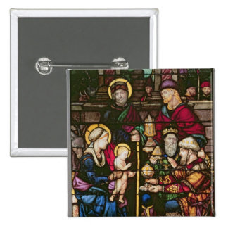 Adoration of the Magi Pinback Button
