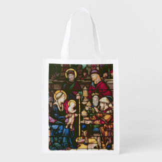 Adoration of the Magi Reusable Grocery Bag