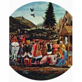 Adoration Of The Magi, Tondo By Domenico Veneziano Photo Cutout
