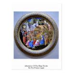 Adoration Of The Magi Tondo By Fra Filippo Lippi Postcards