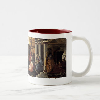 Adoration of the Magi Two-Tone Coffee Mug
