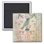 Adoration of the Rising Sun 2 Inch Square Magnet