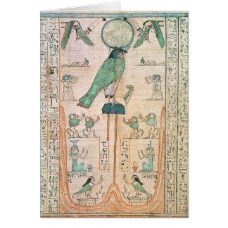 Adoration of the Rising Sun Card