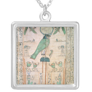 Adoration of the Rising Sun Silver Plated Necklace