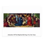 Adoration Of The Shepherd By Hugo Van Der Goes Post Card