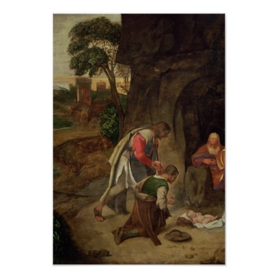 Adoration of the Shepherds, 1510 Poster