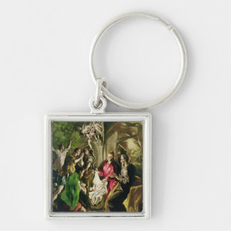 Adoration of the Shepherds, 1603-05 Key Chain