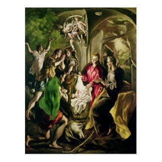 Adoration of the Shepherds, 1603-05 Postcard