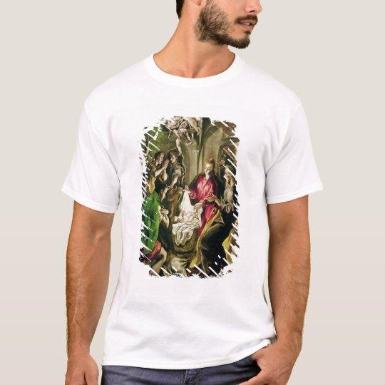 Adoration of the Shepherds, 1603-05 T-Shirt