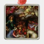 Adoration of the Shepherds, 1612 Christmas Tree Ornaments