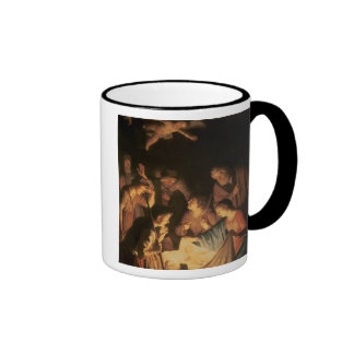 Adoration of the Shepherds, 1617 (oil on canvas) Coffee Mug