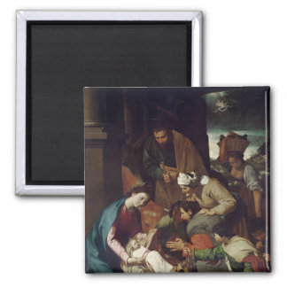 Adoration of the Shepherds, 1630 Magnet