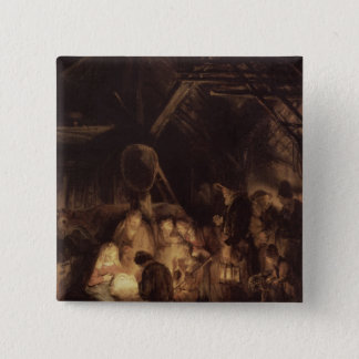 Adoration of the Shepherds, 1646 Button
