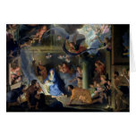 Adoration of the Shepherds, 1689 Card