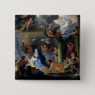 Adoration of the Shepherds, 1689 Pinback Button