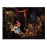 Adoration of the Shepherds, 1689 Post Card