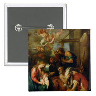 Adoration of the Shepherds 2 Button