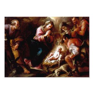 Adoration of the Shepherds - Altobello 5x7 Paper Invitation Card