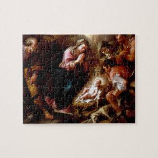 Adoration of the Shepherds - Altobello Jigsaw Puzzle
