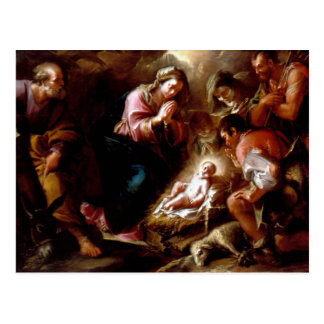 Adoration of the Shepherds - Altobello Postcard