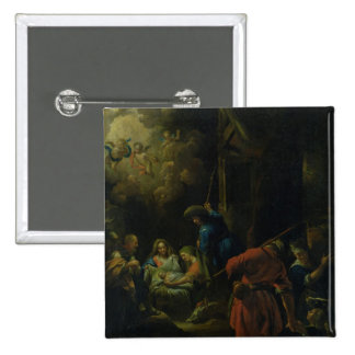 Adoration of the Shepherds Pinback Button