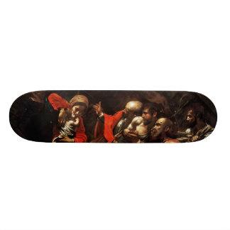Adoration of the Shepherds by Caravaggio (1609) Skate Decks