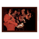 Adoration Of The Shepherds,  By Georges De La Tour Greeting Card