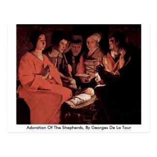 Adoration Of The Shepherds, By Georges De La Tour Postcard
