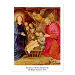 Adoration Of The Shepherds By Hugo Van Der Goes Postcards