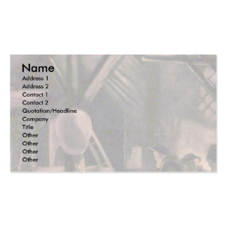 Adoration Of The Shepherds By Rembrandt Harmensz. Double-Sided Standard Business Cards (Pack Of 100)