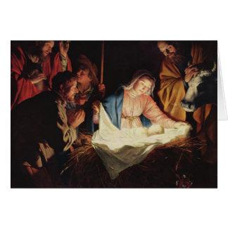 Adoration of the Shepherds Christmas Card