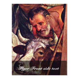 Adoration Of The Shepherds [Fragment].,  By Pieter Flyer Design