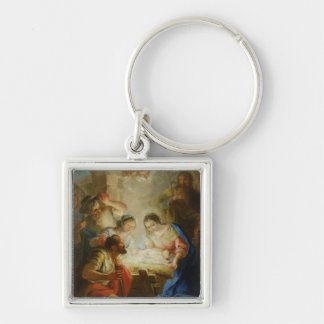 Adoration of the Shepherds Keychain