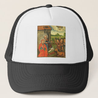 Adoration of the Shepherds Ukrainian Icon Trucker Hat