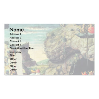 Adoration Of The Three Kings By Andrea Mantegna Double-Sided Standard Business Cards (Pack Of 100)