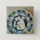 Adoration of the Virgin with St. John Pinback Button