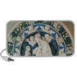 Adoration of the Virgin with St. John iPhone Speaker