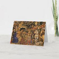 Adorazione dei Magi Holiday Card